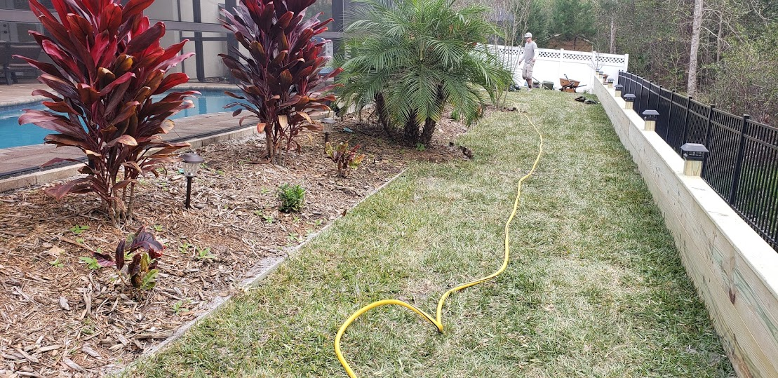 French Drain Catch Basins And Retaining Wall Weathertek