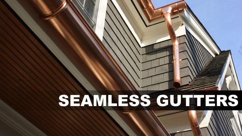 Seamless Gutters in Jacksonville, FL and St. Augustine, FL